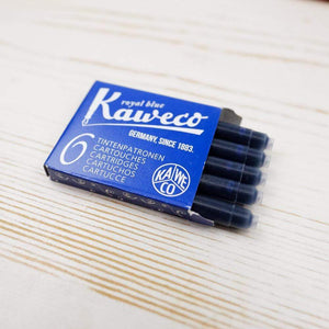 Kaweco Ink Cartridges: Royal Blue Ink Cartridge Papillon Press