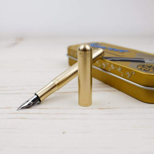 Kaweco Liliput Fountain Pen: Eco Brass Kaweco Pen Papillon Press