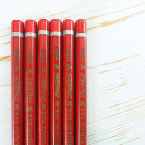 Wallace Invader Red Pencil Vintage Pencil Papillon Press