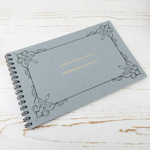 Ornamental Frame Wire Bound Notebook - Small
