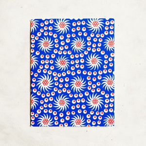 French Pinwheel Mini Letterpress Notebook Block Printed Notebook Papillon Press Égalité
