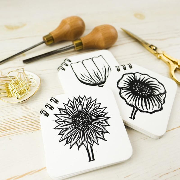 Flower Mini Notebook Trio Papillon Press