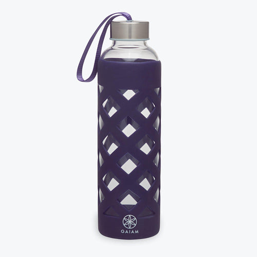 ATHENA GLASS WATER BOTTLE (20 OZ)-Water Bottle-Ladies, Lattes, and Lifting