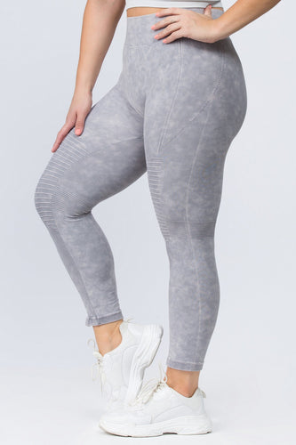 Plus Size Vintage Stretch Legging