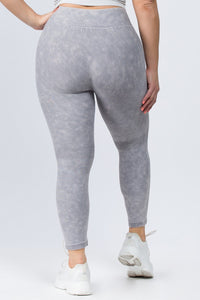 Plus Size Vintage Stretch Legging-Plus Size Leggings-Ladies, Lattes, and Lifting