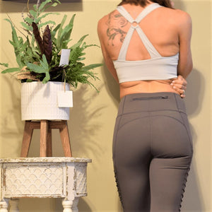 Thick Band Full Support Sports Bra-Ladies, Lattes, and Lifting