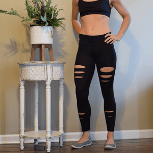 Womens Intentional Legging by Yummy & Trendy-Leggings-Ladies, Lattes, and Lifting