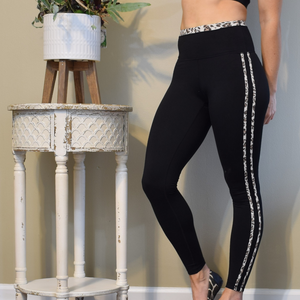 Jagged Jaguar Leggings-Ladies, Lattes, and Lifting