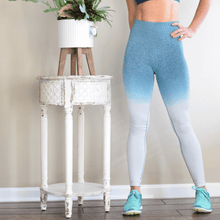 Load image into Gallery viewer, Women's High Waisted Tummy Control Seamless Legging-Leggings-Ladies, Lattes, and Lifting