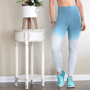 Women's High Waisted Tummy Control Seamless Legging-Leggings-Ladies, Lattes, and Lifting