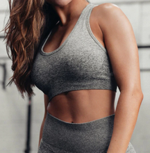 Load image into Gallery viewer, Women's Ombre Seamless Sports Bra