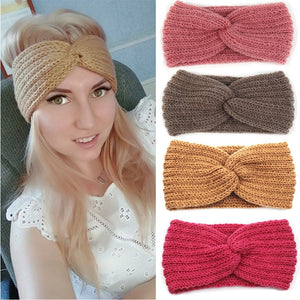 Winter Ear Warmer Headband for Women-Headbands-Ladies, Lattes, and Lifting