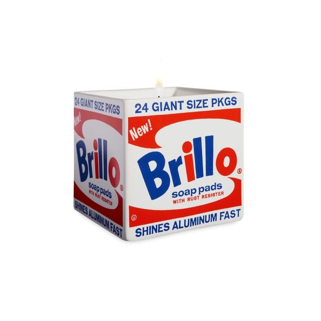 Brillo Candle