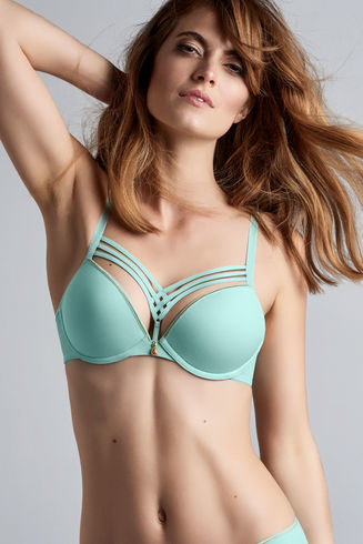 Tiffany Blue Pineapple Bra