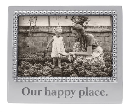 our happy place 4x6 frame