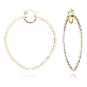 Precious Fruit Diamond Embellished Hoops