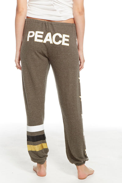 PEACE/STAR SWEATPANT