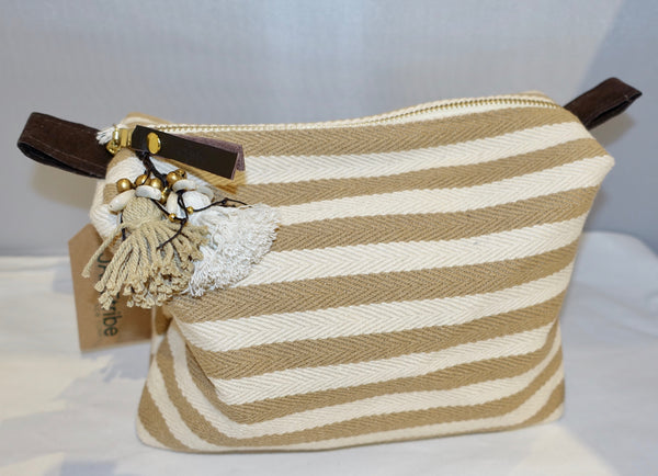 Cosmetic Puka Shell Bag
