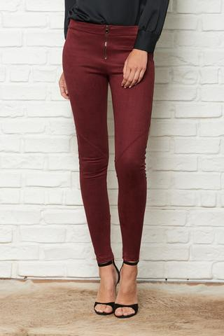 FRONT ZIP LEGGINGS