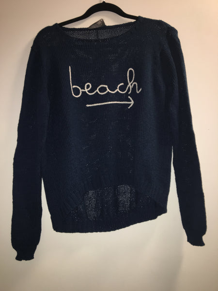 To The Beach Crewneck