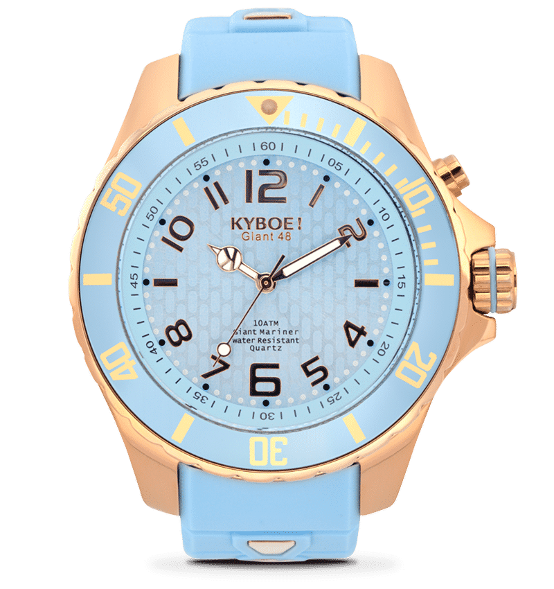 KYBOE POWER COLLECTION ROSE GOLD SERIES WATCHES