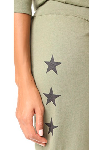 Monrow Star Sweatpants