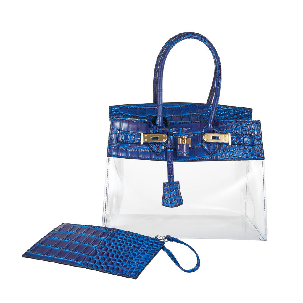 MINI CROC TROPICAL BAG