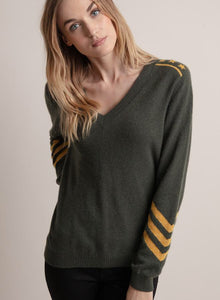 Military Cashmere Sweater