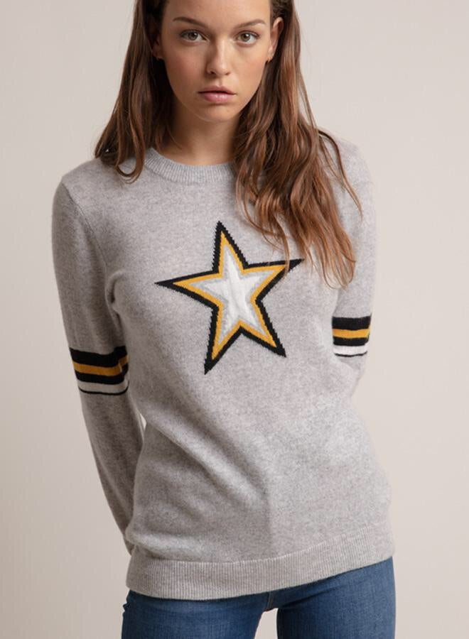 Army Star Cashmere Sweater