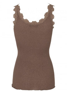 Bliss Lace & Lurex Tank
