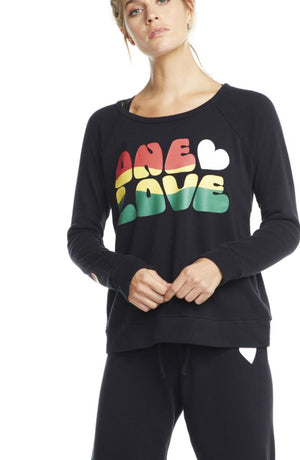 One Love Fleece Pullover