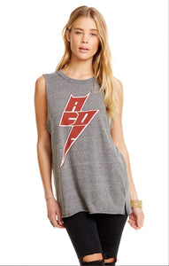 AC/DC Side Slit Muscle Tee