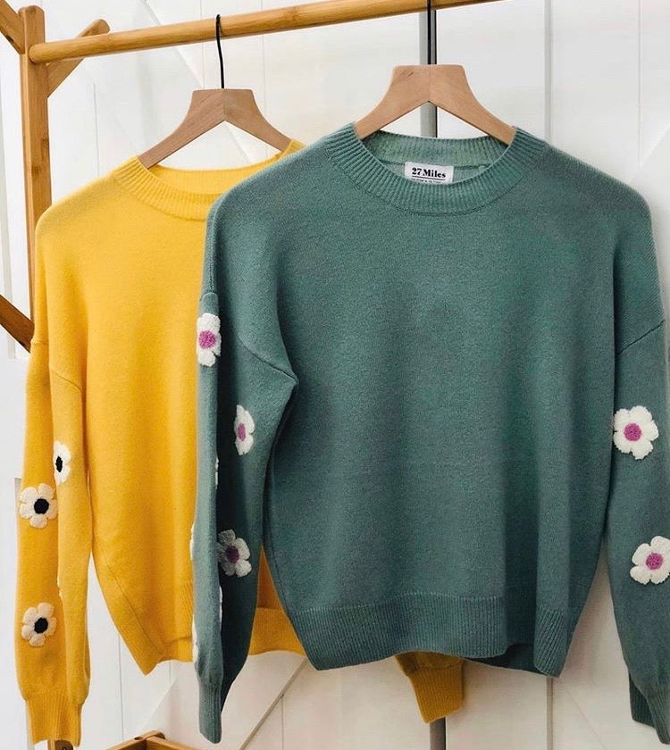 Tennessee Daisy Sweater