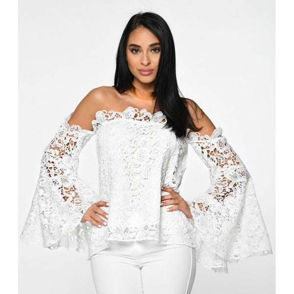 AUM Couture ISA Blouse - White or Black