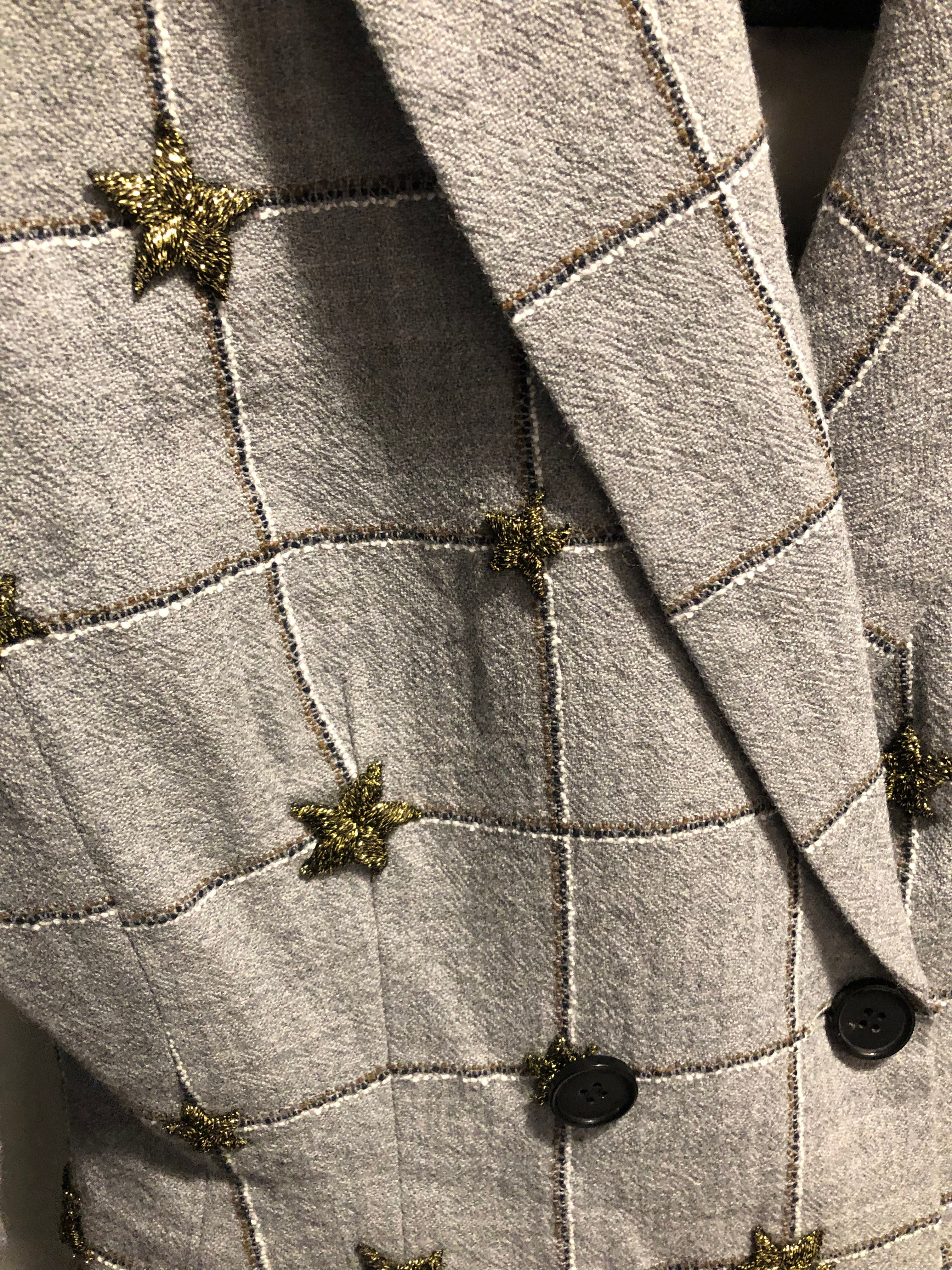 Star Wool Blazer