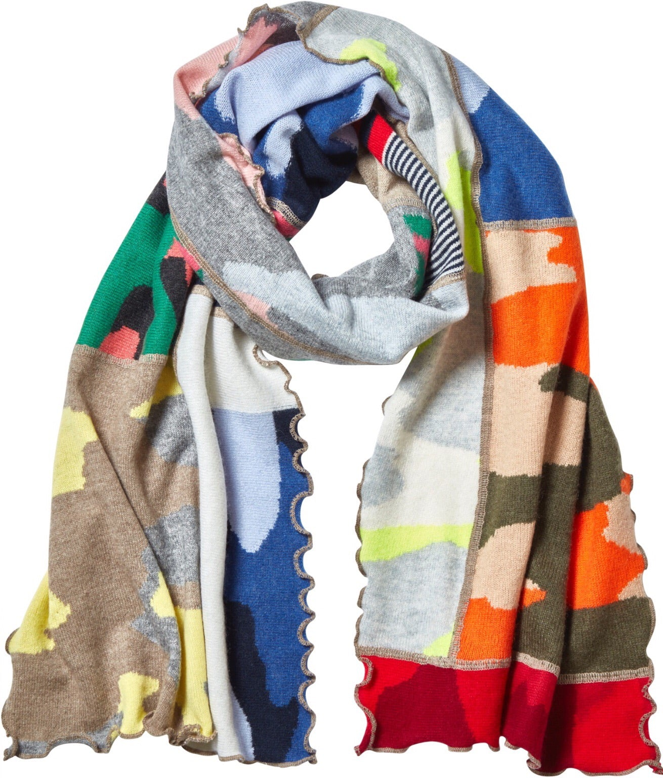 Patchwork Scarf - Back In Stock!