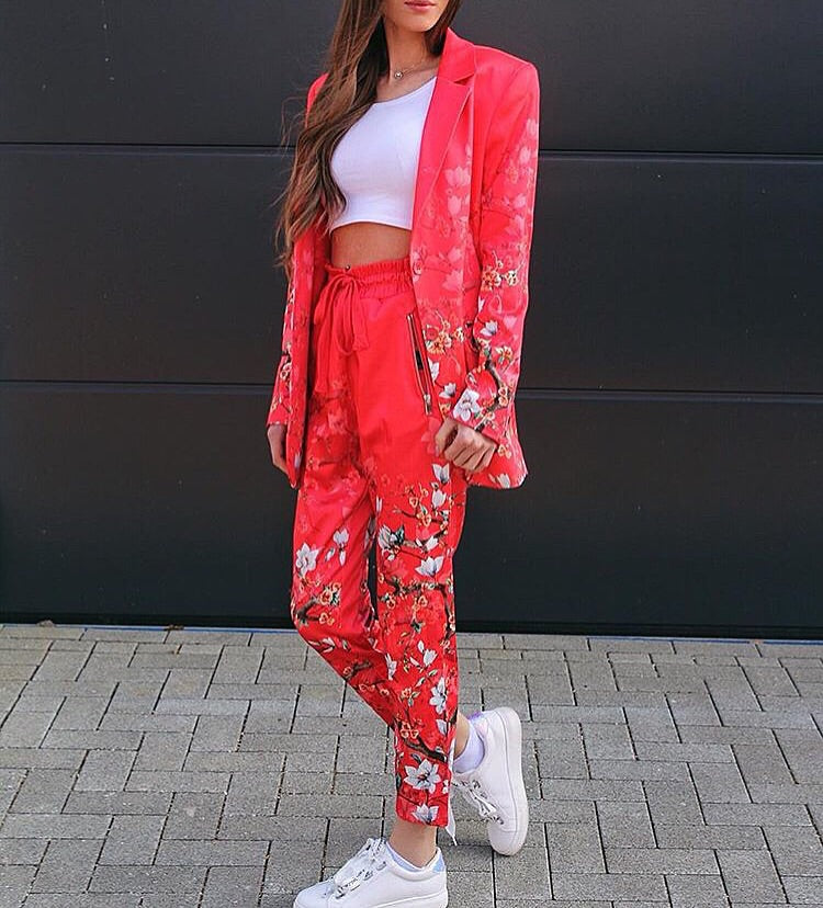 Piper Flame Blossom Pant