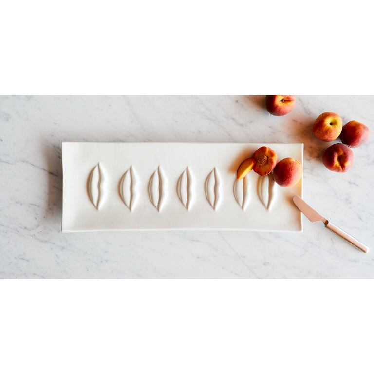 Gala Rectangle Lips Tray