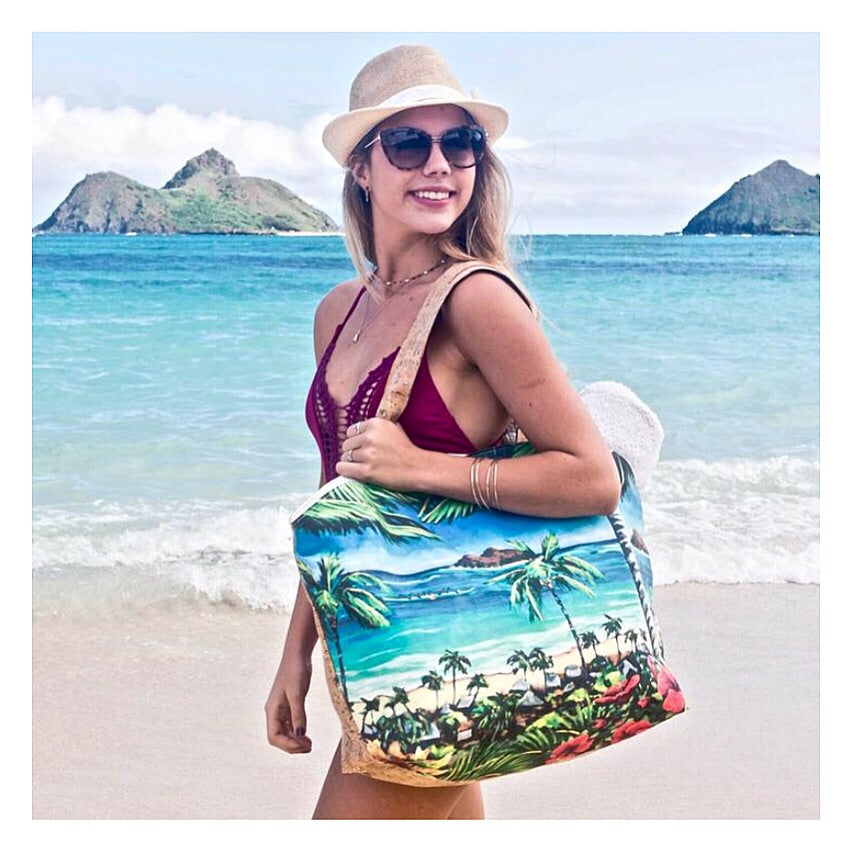 Hiking In Paradise Tote