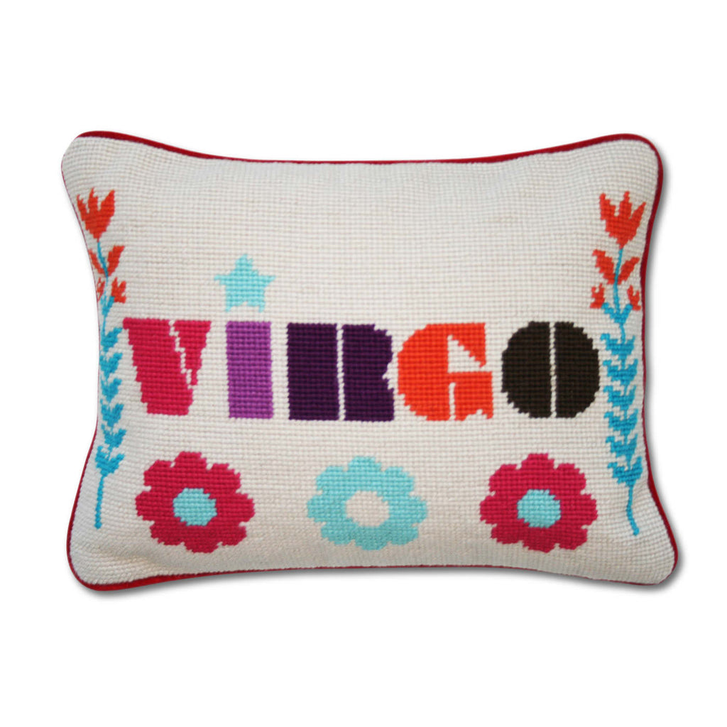 ZODIAC EMBROIDERED PILLOW