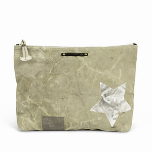Postal Silver Star Pouch Medium