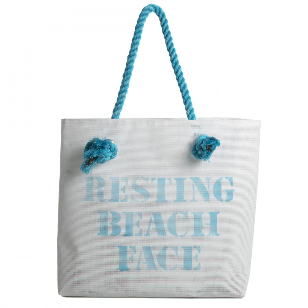 Recycled Beach Tote