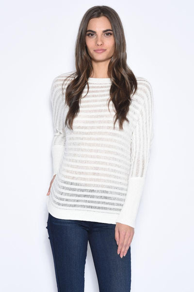 Chevel Horizontal Stripe Pullover