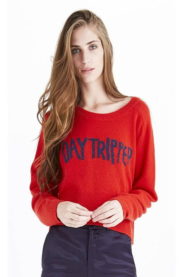 DAYTRIPPER CROP SWEATER