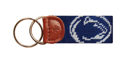 Penn State Needlepoint Key Fob