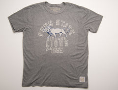 Penn State Grey Cotton Vintage Logo T-shirt