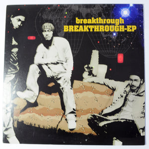 "Breakthrough ‎– Breakthrough - 12"" EP Single"