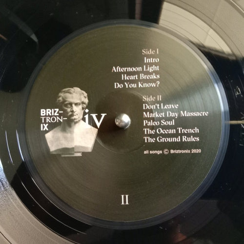 BRIZTRONIX IV - L.P Album - Ltd Pressing - 2 Available