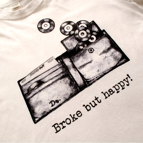 Broke but Happy - Diggn Short- Sleeve Unisex T-Shirt