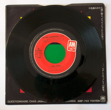 Load image into Gallery viewer, Chas Jankel ‎– Questionnaire / AI NO CORRIDA - 7 inch Vinyl